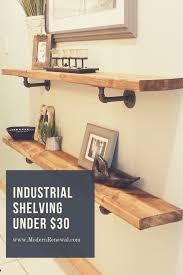 17 best diy pipe shelves for budget