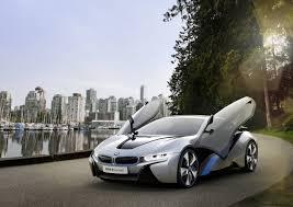 BMW i8 Concept plug-in hybrid sports car in detail - Photos