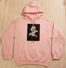 Hoodies Designed By Artists Artist Union Clothing Co Amour Rose Pullover Hoodie Pink