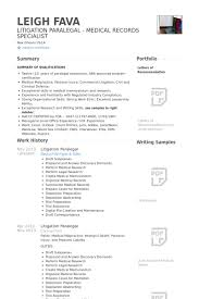 Paralegal Resume Unique Litigation Paralegal Resume Samples Kenicandlecomfortzone