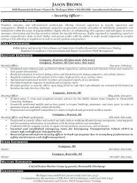 Law Enforcement Resume Objective Fascinating Police Officer Sample Resume 48 Spacesheepco
