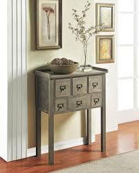 elegant entryway furniture. Furniture Small Gray Entryway Console Table With 6 Drawers Unique Design Smart And Elegant I