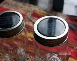 Solar Jars Solar String Light Lid For Regular Mouth Mason Jars