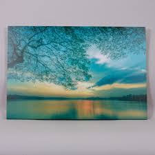 lake teal wall art harry corry limited