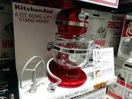 kitchenaid mixer costco mixer photo 2 of 5 6 quart bowl lift mixer exceptional kitchen