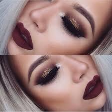 y dramatic makeup look