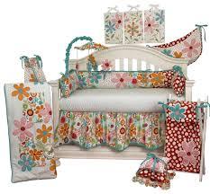 lizzie 7pc crib bedding set