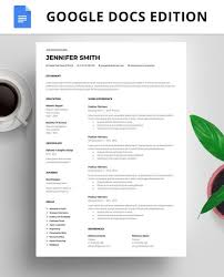 Resume Template Instant Download Resume Google Docs