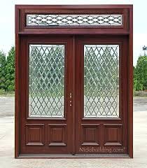 6 panel fiberglass shed door exterior double door double doors transom cau glass exterior double doors