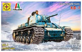 Сборная <b>модель Моделист Советский танк</b> КВ-1 (307240) 1:72 ...