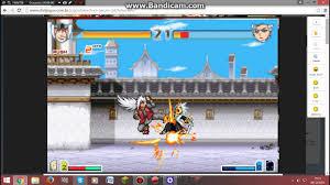 bleach vs naruto 2.4 muito bom esse jogo - YouTube