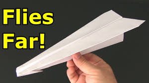 how to make an f eagle paper airplane that flies far video how to make a paper airplane that flies fast and straight
