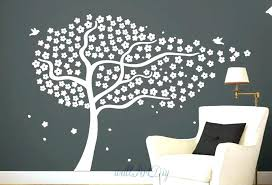 rustic tree stencil for wall painting birch full size entertaining large stencils better ste wall mural stencil