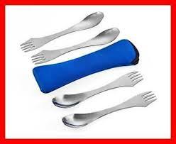 Lixada <b>Titanium</b> Long Handle Spoon <b>Outdoor Portable</b> Dinner ...