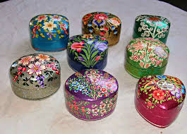 Paper Mache Boxes To Decorate 60 best Kashmiri Paper Mache Boxes images on Pinterest Papier 44
