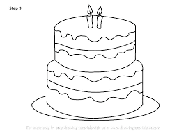 Birthday Cake To Color Birthday Cake Coloring Pages Birthday Cake