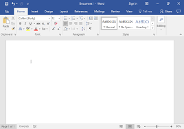 Creating A New Blank Document And Finding Your Way Around Computer