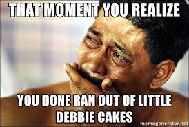 Image result for little debbie meme