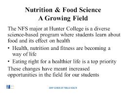 4 nutrition food science