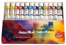 Art Spectrum Colour Chart Australian Art Supplies Shopping