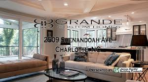 grande custom homes charlotte nc shenandoah youtube