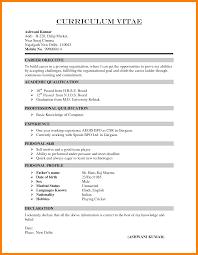 10 Resumes Cv Templates Prefix Chart
