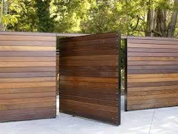horizontal wood slat fence. Modren Horizontal Horizontal Wood Slat Fence  Wooden For O