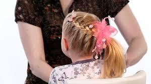 účes Na Dlouhé Vlasy Zapletený Cop Na Straně účes Pro Dívky