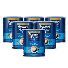 Maxwell House Coffee Vending Machine Stunning Maxwell House Rich Blend Instant Coffee Granules 48 X 48g