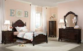 Homelegance Cinderella Bedroom Set - Dark Cherry