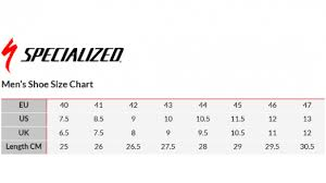 Specialized Road Size Chart 54 Exhaustive Specialized Venge Size Chart