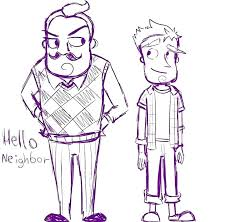New Hello Neighbor Coloring Pages Or Download This Coloring Page 9