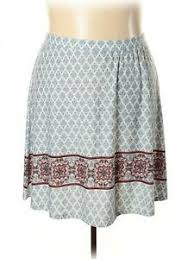 Cato Plus Size Chart Details About Cato Women White Casual Skirt 22 Plus