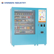 Vending Machine Help Gorgeous China SelfHelp Combination Vending Machine With Robotic China