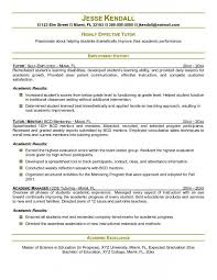 Tutor Resume Sample New Tutor Resume Sample Sonicajuegos