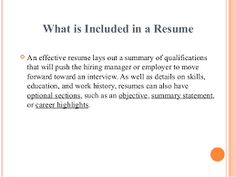 Types of Resumes; 3.