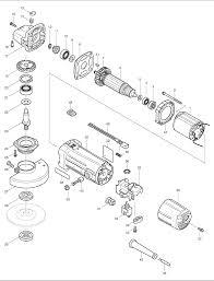 makita grinder parts. makita 9550h parts schematic grinder a