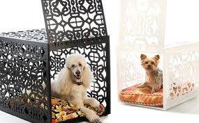fancy dog beds furniture bespoke dog crates ultra luxury dog crates for a  stylish home two