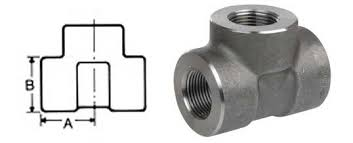 Npt Threaded Tee Threaded Equal Tee Stainless Steel