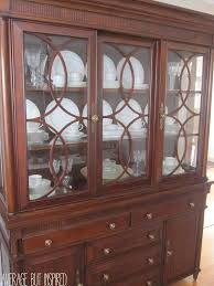 Great tips on how to arrange a china cabinet for maximum visual impact and  organization!