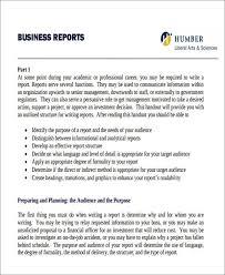 Sample Business Report Template Rome Fontanacountryinn Com