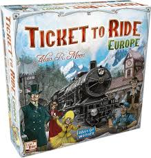 ticket to ride europe game amazon co uk toys games