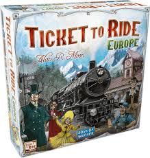 ticket to ride europe game amazon co uk toys games