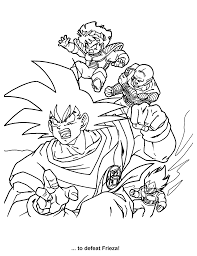 Dragon Ball Z Coloring Page Tv Series Coloring Page Picgifscom