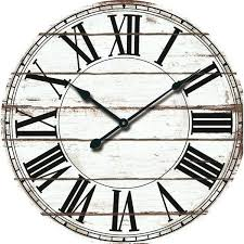 attractive rustic wall clocks of lane oversized wood clock reviews ca extra large