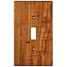 unfinished wooden light switch plates designs
