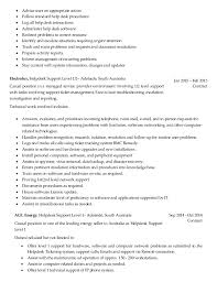 Desktop Support Technician Resume Cover Letter Samples Cover