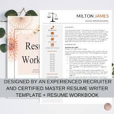 Milton James Resume Template Resume Workbook Package Ken Docherty