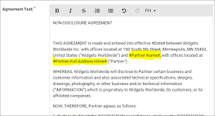 All rules and norms of a deal are listed by default in the template and it is easy to. What Is The Partner Agreements Functionality And How Do I Use It Support Portal Knowledge Base