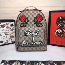gucci backpack. blind for love gucci backpack